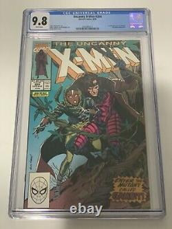 UNCANNY X-MEN #266 CGC 9.8 WHITE PAGES! (Marvel) 1st Gambit Appearance! HOT