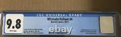 Ultimate Fallout #4 1st print CGC 9.8 NM/MT White Pages 1st app. Miles Morales