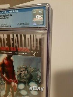 Ultimate Fallout 4 Cgc 9.8 White Pages 1st Miles Morales