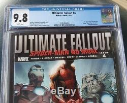 Ultimate Fallout #4 (October 2011, Marvel) CGC 9.8 1st print white pages