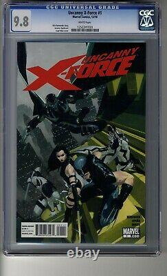 Uncanny X-Force (2010) # 1 Cover A CGC 9.8 White Pages- Apocalypse appearance