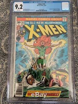 Uncanny X-Men #101 CGC 9.2 1976 1st app. Phoenix, Black Tom Cassidy white pages