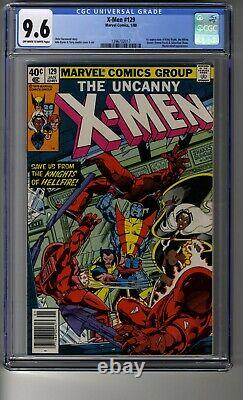 Uncanny X-Men (1963) # 129 CGC 9.6 White Pages Newsstand First Kitty Pryde