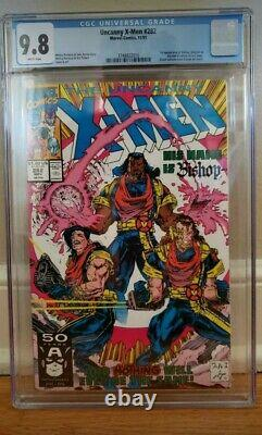 Uncanny X-Men #282 CGC 9.8 NM/MT 1st Appearance of Bishop WHITE PAGES