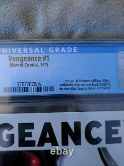Vengeance 1 CGC 9.8 Dell Otto Variant White Pages 1st America Chavez