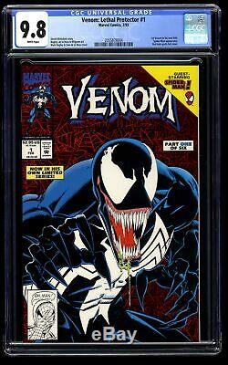 Venom Lethal Protector #1 CGC NM/M 9.8 White Pages