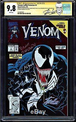 Venom Lethal Protector #1 Cgc 9.8 White Ss 5 X's Stan Lee ++++ Cgc #1610472007