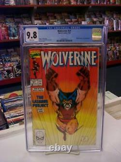 WOLVERINE #27 (Marvel Comics, 1990) CGC Graded 9.8! JIM LEE White Pages