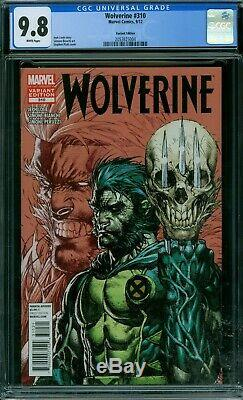 Wolverine 310 CGC 9.8 White Pages Variant Edition