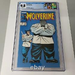 Wolverine #8 CGC 9.8 White Pages Hulk Appearance Back Cover Pinup Marvel Comics