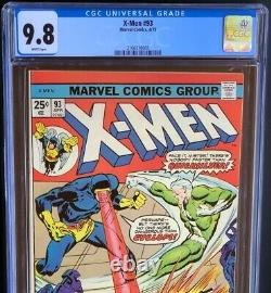 X-MEN #93 (1975) CGC 9.8 WHITE PGs HIGHEST GRADED 1 OF ONLY 6! Cyclops