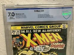 X-MEN 94 CBCS (like CGC) 7.0 FN/VF WHITE PAGES