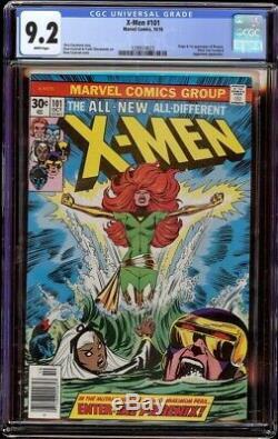 X-Men # 101 CGC 9.2 White (Marvel, 1976) 1st appearance Phoenix