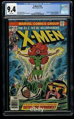 X-Men #101 CGC NM 9.4 White Pages 1st Phoenix! Marvel Comics