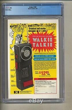 X-Men 109 (CGC 9.6) White pages 1st app. Weapon Alpha Byrne 1978 (c#26982)