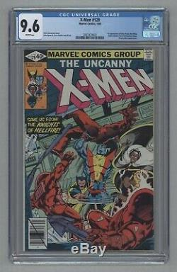 X-Men #129 1st App Kitty Pryde White Queen Sebastian Shaw White Pages CGC 9.6