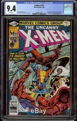 X-Men # 129 CGC 9.4 White (Marvel, 1980) 1st appearance Emma Frost & Kitty Pryde