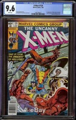 X-Men # 129 CGC 9.6 White (Marvel, 1980) 1st appearance Emma Frost & Kitty Pryde