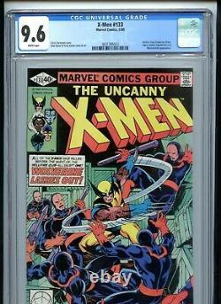 X-Men #133 CGC 9.6 White Pages Hellfire Club Wolverine