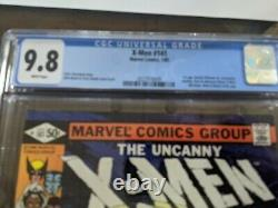X Men 141 Cgc 9.8 White Pages
