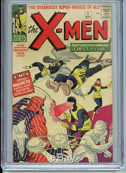 X-Men #1 1963 CGC 4.5 Cream to Off White Pages 1st Magneto