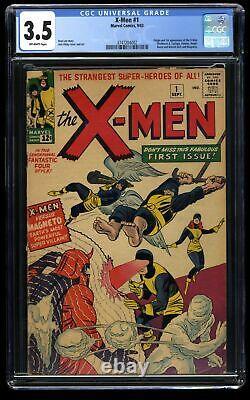 X-Men #1 CGC VG- 3.5 Off White Marvel Comics