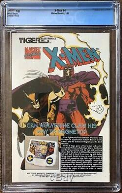 X-Men #4 CGC 9.8 White NEWSSTAND (Jan 1992, Marvel) 1st Appearance OMEGA RED