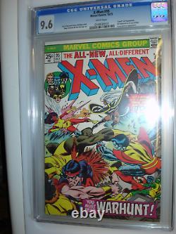 X-Men 95, CGC 9.6, White pgs 3rd app. Of the new X-men Death of Thunderbird