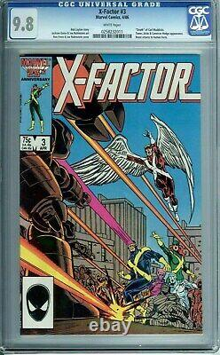 X-factor 1 2 3 4 5 6 Lot Set Of 6 Books Most Graded Cgc 9.8 All Have White Pages