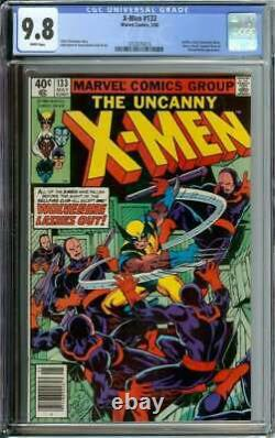 X-men #133 Cgc 9.8 White Pages // Bronze Age Hellfire Club Appearance