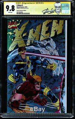 X-men #1 Cgc 9.8 White Ss Stan Lee Special Collectors Ed Cgc #0351062004