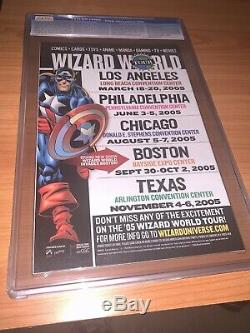 YOUNG AVENGERS #1 Wizard World Sketch Variant CGC 9.8 White 1st App Kate Bishop